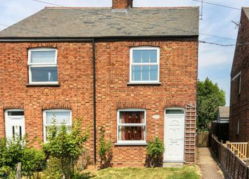Thumbnail 2 bed semi-detached house for sale in Ely Road, Queen Adelaide, Ely