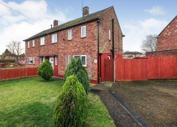 Thumbnail 2 bedroom semi-detached house for sale in Myrtle Grove, Dogsthorpe, Peterborough