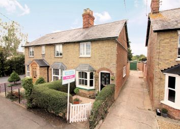 Thumbnail 2 bedroom semi-detached house for sale in Station Road, Quainton, Aylesbury