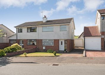 Thumbnail 3 bedroom semi-detached house for sale in St. Andrews Gardens, Dalry, North Ayrshire, Scotland