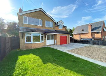 Thumbnail 4 bed detached house for sale in Station Road, Little Bytham, Grantham