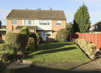 Thumbnail 3 bed semi-detached house for sale in Claremont Avenue, Hucknall, Nottinghamshire