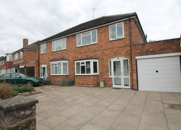 Thumbnail 3 bed semi-detached house for sale in The Dell, Solihull
