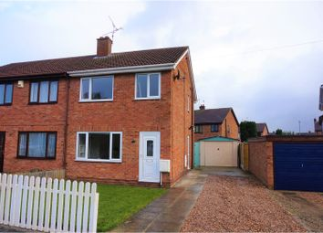 Thumbnail 3 bed semi-detached house for sale in Croft Road, Selby
