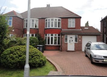 Thumbnail 3 bed semi-detached house to rent in Grange Road, Broom, Rotherham