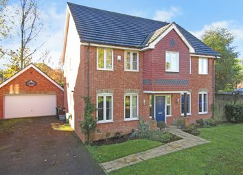 Thumbnail 4 bed detached house for sale in Hoads Wood Gardens, Ashford