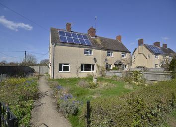 Thumbnail 3 bed semi-detached house for sale in Priory Road, Lyneham, Chipping Norton, Oxfordshire
