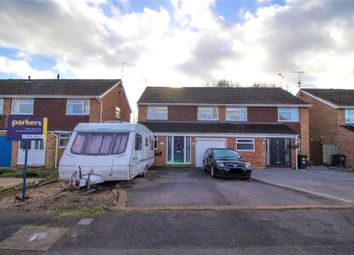Thumbnail 4 bedroom semi-detached house for sale in Rangewood Avenue, Reading, Berkshire