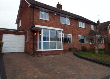 Thumbnail 3 bed semi-detached house for sale in St. Denis Road, Selly Oak, Birmingham, West Midlands