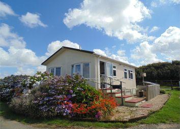 Thumbnail 2 bed mobile/park home for sale in Park Hall Caravan Site, Pen Y Cwm, Haverfordwest, Pembrokeshire