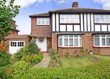 Thumbnail 3 bed semi-detached house for sale in Dickens Rise, Chigwell, Essex