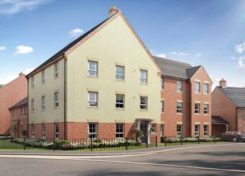 "Thumbnail 2 bedroom flat for sale in ""Poppy Court"" at Broughton Crossing, Broughton, Aylesbury"