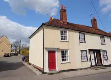 Thumbnail 2 bed end terrace house for sale in New Street, Dunmow, Essex