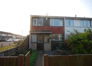 Thumbnail 3 bed end terrace house for sale in Chatfield Way, Basildon, Essex