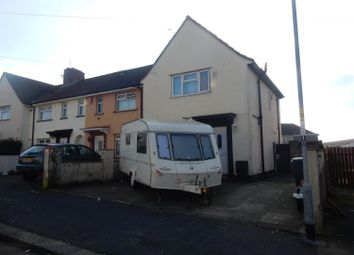 Thumbnail 3 bed end terrace house for sale in Camberley Road, Knowle, Bristol