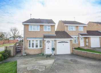 Thumbnail 3 bed link-detached house for sale in Delfcroft, Ware, Hertfordshire