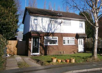 Thumbnail 2 bed semi-detached house to rent in Littleton Close, Great Sankey, Warrington
