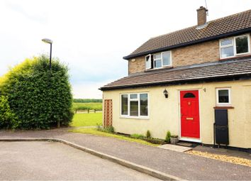 Thumbnail 3 bed end terrace house for sale in Debden Drive, Wimbish, Saffron Walden