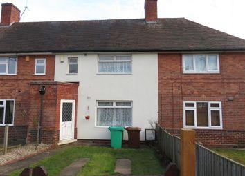 Thumbnail 3 bed terraced house for sale in Ambleside Road, Aspley, Nottingham