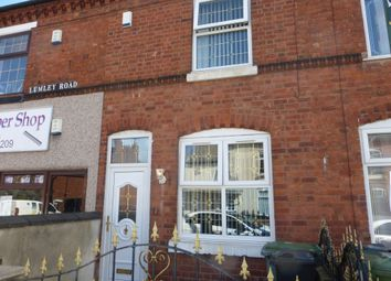 Thumbnail 3 bedroom terraced house for sale in Lumley Road, Walsall