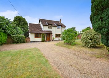 Thumbnail 3 bed detached house for sale in Rectory Road, Shelfanger, Diss