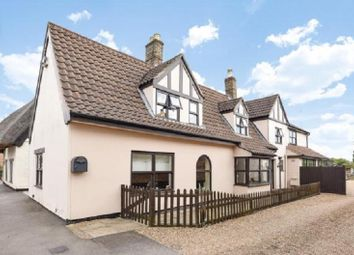Thumbnail 5 bedroom detached house for sale in Main Street, Yaxley, Peterborough