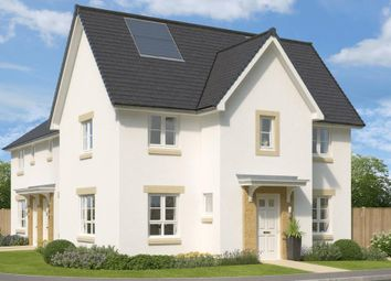 "Thumbnail 3 bed semi-detached house for sale in ""Abergeldie"" at Huntingtowerfield, Perth"