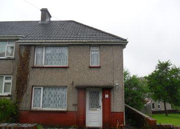 Thumbnail 2 bedroom semi-detached house for sale in Maen Gwyn, Cilmaengwyn, Pontardawe.