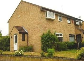 Thumbnail 3 bed semi-detached house to rent in Bracken Drive, Rugby