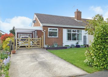 Thumbnail 3 bed semi-detached bungalow for sale in St Pauls Close, Burgh Le Marsh, Skegness