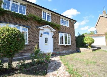 Thumbnail 4 bed detached house to rent in Ravenswood Park, Northwood