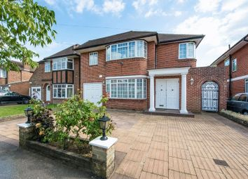 Thumbnail 4 bed detached house for sale in Harrowes Meade, Edgware, Middlesex