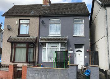 Thumbnail 2 bed semi-detached house for sale in Beech Grove, Troedyrhiw, Merthyr Tydfil