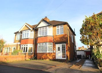 Thumbnail 3 bed semi-detached house for sale in Lawn Close, Edmonton