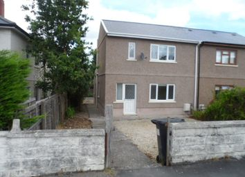 Thumbnail 2 bed semi-detached house for sale in Dolfain, Ystradgynlais, Swansea