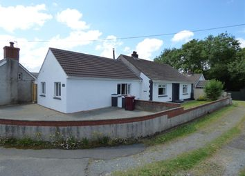 Thumbnail 4 bed bungalow for sale in Lower Quay Road, Hook, Haverfordwest