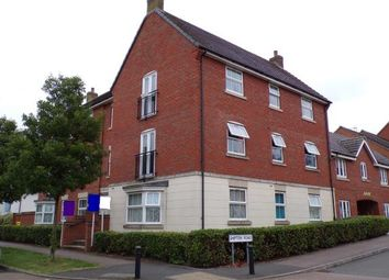 Thumbnail 2 bed flat for sale in Brompton Road, Hamilton, Leicester, Leicestershire