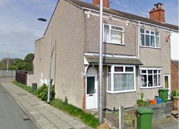 Thumbnail 2 bed end terrace house to rent in Willingham Street, Grimsby