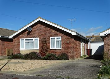 Thumbnail 2 bed detached bungalow for sale in Robins Close, Selsey, Chichester