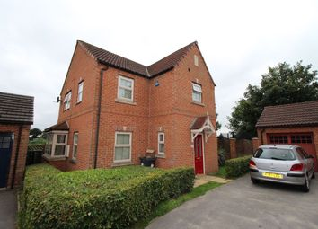 Thumbnail 4 bed detached house to rent in St. Edwin Reach, Dunscroft, Doncaster