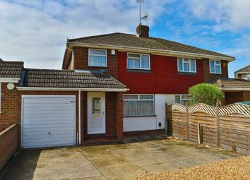Thumbnail 3 bed semi-detached house to rent in Antrim Road, Woodley, Reading