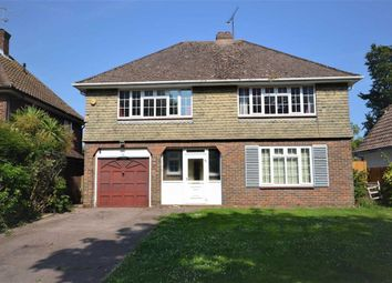Thumbnail 3 bed detached house for sale in Aldsworth Avenue, Goring-By-Sea, Worthing, West Sussex