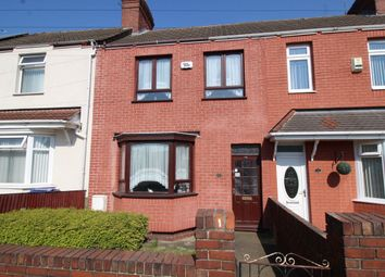 Thumbnail 3 bed terraced house for sale in Owston Road, Carcroft, Doncaster