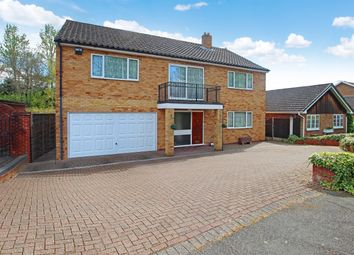 Thumbnail 4 bed detached house for sale in Wolverton Close, Redditch