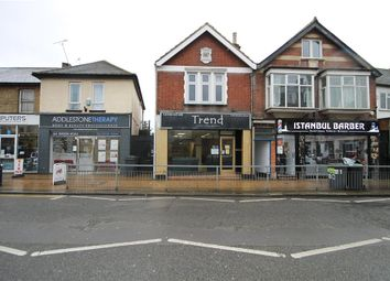 Thumbnail 3 bed flat for sale in Station Road, Addlestone, Surrey