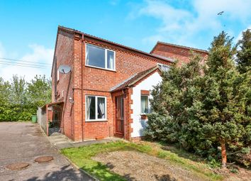 Thumbnail 2 bed end terrace house for sale in Manor Close, Hockering, Dereham
