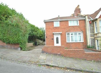 Thumbnail 3 bedroom end terrace house for sale in Langham Road, Knowle, Bristol