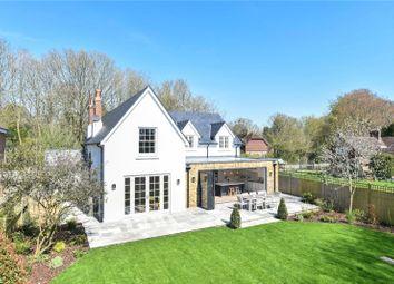 Woodman Lane, Sparsholt, Winchester, Hampshire SO21. 4 bed detached house for sale