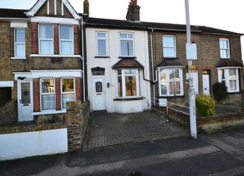 Thumbnail 2 bed terraced house to rent in Park Road, Sittingbourne