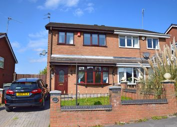 Thumbnail 3 bed semi-detached house for sale in Neath Close, Meir Hay, Stoke-On-Trent